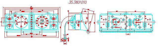 ГАЗ-3302, 33027 - схема
