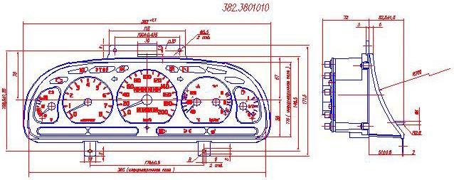 для ГАЗ-3110 - схема